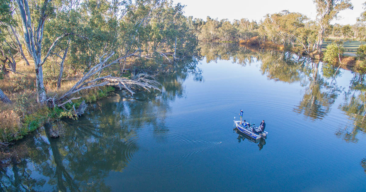 Fishing in Nagambie Lakes