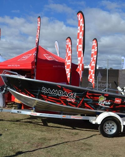 MS Rampage Boat Raffle Prize