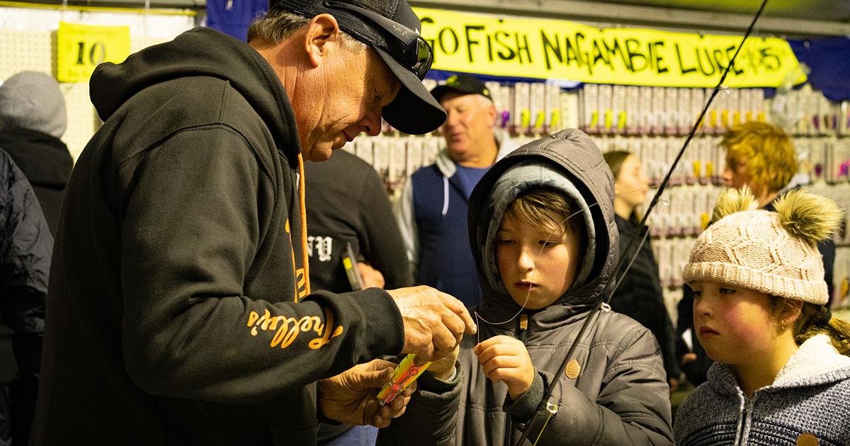 Steve Trelly at GoFish Nagambie