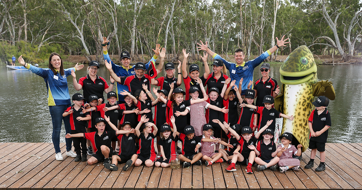 Nagambie Primary School and GoFish Nagambie Ambassadors